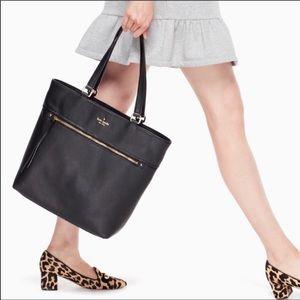 Kate Spade Black Cobble Hill Taylor Tote purse NWT